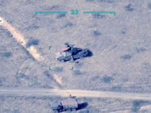 Azərbaycan Ordusunun bölmələri düşmənin daha bir neçə hərbi texnikasını məhv edib – VİDEO
