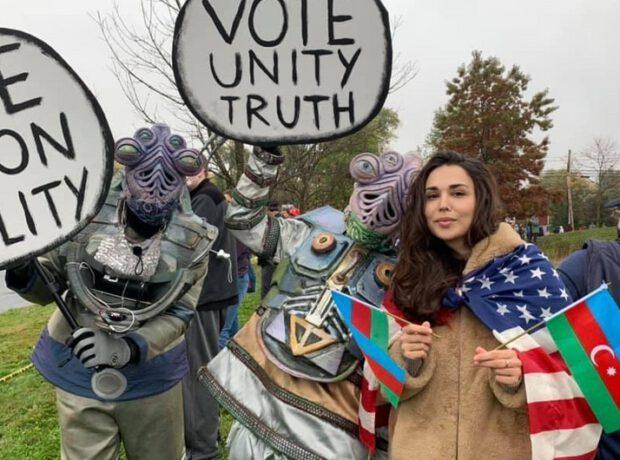 Donald Trampın seçki kampaniyasında Gəncə terroruna etiraz edilib
