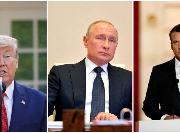 Tramp, Putin və Makron Qarabağla bağlı birgə bəyanat verəcəklər