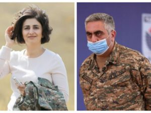 Ermənistan Müdafiə Nazirliyinin sevgili olan rəsmiləri ayrıldılar – Aralarında MÜBAHİSƏ DÜŞDÜ