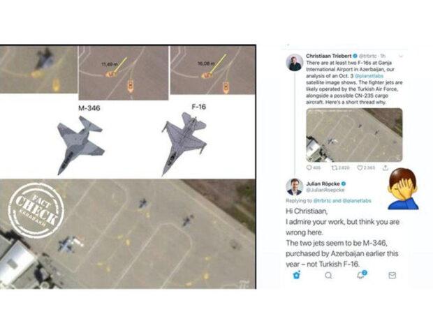 Ermənilərin F-16 yalanı ifşa olundu – FOTOFAKT