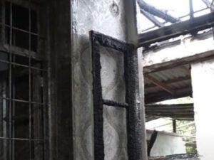 Düşmən mərmisi yaşayış evini dağıtdı – VİDEO