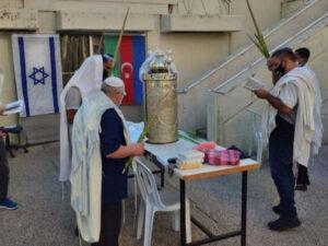İsraildə Azərbaycanın qələbəsi üçün dualar edildi – FOTO