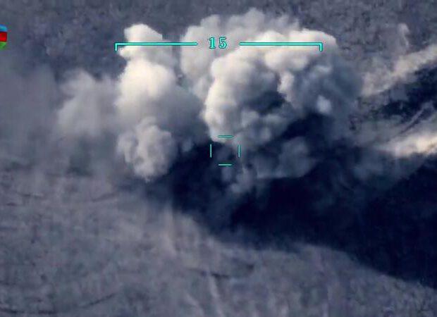 Düşmənin daha bir ağır artilleriyası məhv edildi