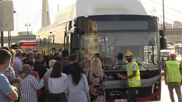 Həkim Aqil Qeybulla koronavirusun yayılmasına səbəb olan avtobuslardakı sıxlıqda BNA-nı ittiham etdi – VİDEO