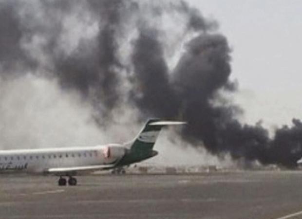 Səudiyyə Ərəbistanında hava limanına PUA-larla hücum edildi