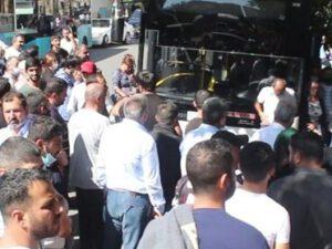 """Orduya yollanan əsgərlərimiz İZDİHAM YARATDI: """"Öldü var, döndü yox!"""" – VİDEO"""