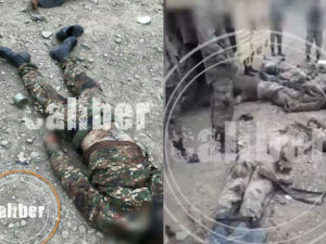 Məhv edilən erməni işğalçılarının görüntüləri – VİDEO