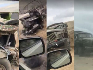 Ordumuz tərəfindən məhv edilən düşmən texnikalarının görüntüləri – VİDEO