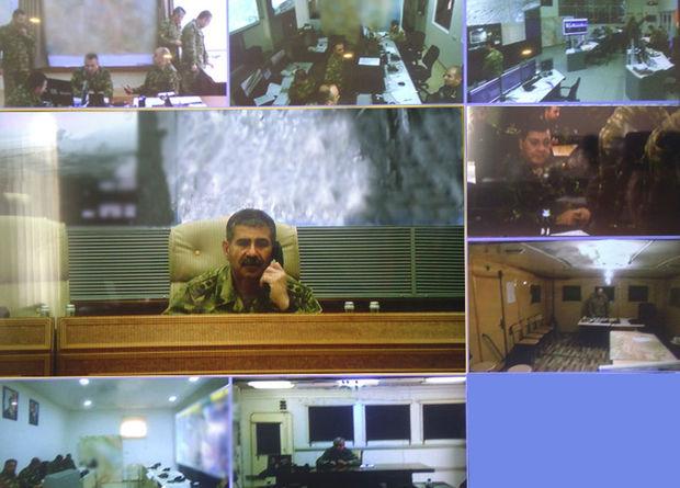 Azərbaycan ordusunun rəhbərliyi döyüş tapşırıqlarının uğurlu icrasını planlaşdırır