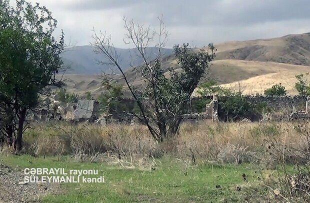 İşğaldan azad olunmuş daha bir kəndin görüntüsü – VİDEO