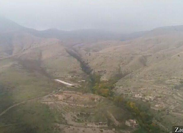 Zəngilanın Əmirxanlı kəndinin görüntüləri – VİDEO