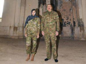 Prezident İlham Əliyev və Birinci vitse-prezident Mehriban Əliyeva Ağdam məscidində – FOTO