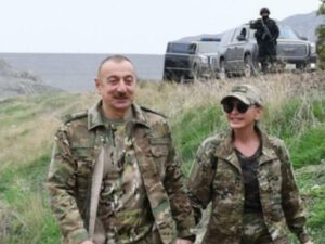 İlham Əliyev və Mehriban Əliyeva AĞDAMDA: Birinci xanım GÖRÜNTÜ PAYLAŞDI – VİDEO