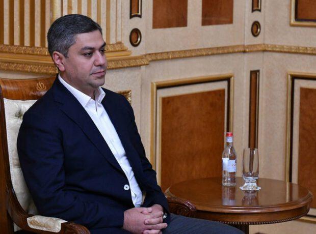 Ermənistan MTX-nin keçmiş direktoru saxlanılıb