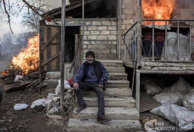 Laçını tərk edən ermənilər vandal hərəkətlərindən əl çəkmirlər – FOTO