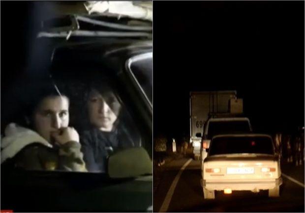 BBC: Ermənilər Laçını kütləvi şəkildə tərk edir – FOTO