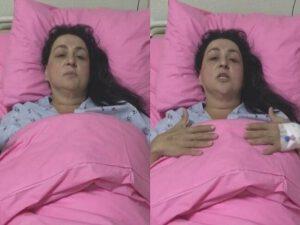 """""""Toppuş"""" bacıda yenidən şiş tapıldı: """"Həyatla vidalaşıram""""- VİDEO"""