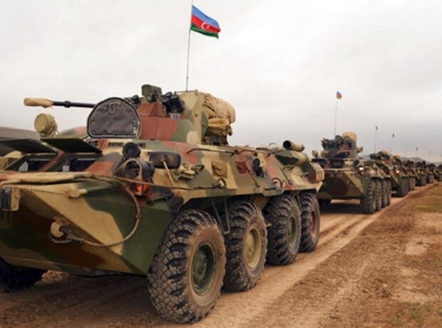 Azərbaycan Ordusu döyüş hazırlığını davam etdirir