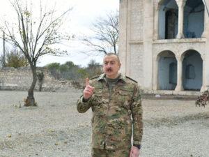 """Azərbaycan Prezidenti: """"Paşinyan bütün müxalifəti tutdurur, qərb də susur, ağzına su alıb"""""""