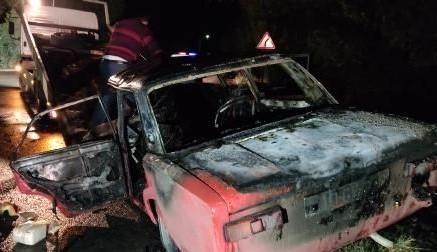 Bərdədə qəza nəticəsində iki nəfər ölüb, yaralananlar var