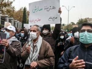 İran çalxalanır: Xalq yenidən AYAĞA QALXDI – FOTOLAR