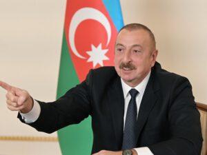 """Azərbaycan Prezidenti: """"Biz peykləri orbitə çıxaranda bəziləri sual verirdilər ki, bu, nə üçün lazımdır"""""""