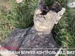 """""""Ermənilər burada ölülərlə döyüşürdü"""" – """"Dojd"""" telekanalı Füzulidə (VİDEO)"""