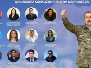 """""""Bütövləşən Azərbaycan – 44 günlük Zəfər Salnaməmiz""""-Silsilə konfranslar başladı"""