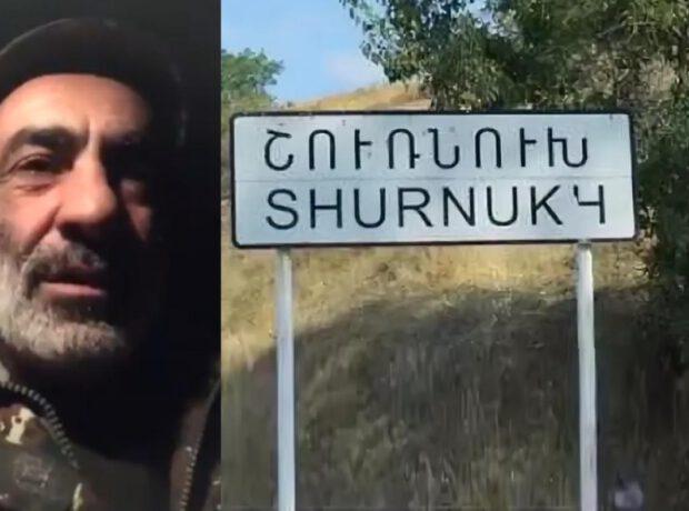 Ermənilər Zəngəzurun Şurnuxu kəndi istiqamətində TƏXRİBAT HAZIRLAYIR