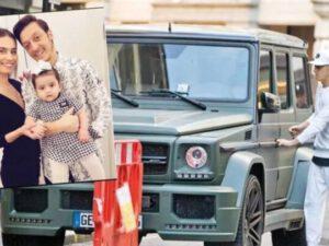 Məşhur cütlüyün zirehli avtomobili də Türkiyəyə gətirilib – FOTOLAR