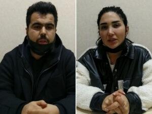 """Polis bu iki şəxsi """"Instagram""""dakı paylaşımlarına görə tutdu"""