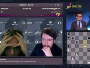 """Teymur Rəcəbov Levon Aronyanı məğlub etdi və """"Airthings Masters"""" turnirinin qalibi oldu"""