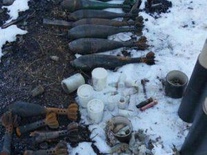 Ermənilərin Şuşada basdırdığı raketlər aşkarlandı – FOTOLAR