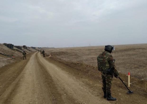 Azərbaycan və Rusiya FHN 3 hektar ərazini minalardan təmizlədi – VİDEO