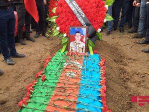 Azərbaycan Ordusunun şəhid olan hərbçisi Saatlıda dəfn edilib – FOTO