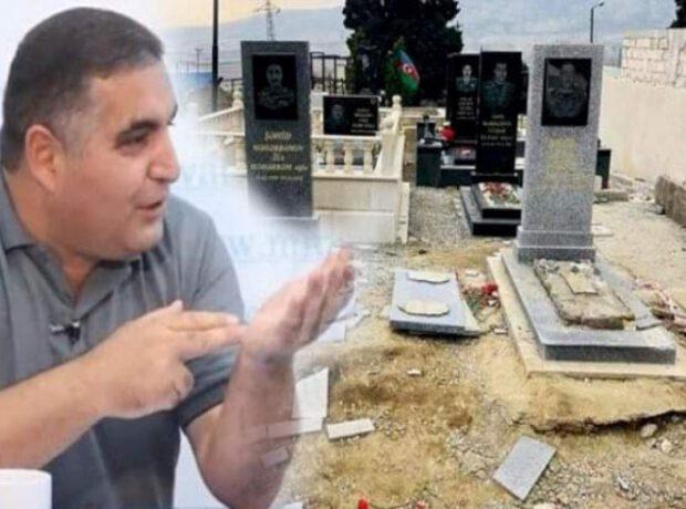 """Sizin 2 hektarda villanız olsun, şəhidlərin 2 metrlik """"ev""""i…"""