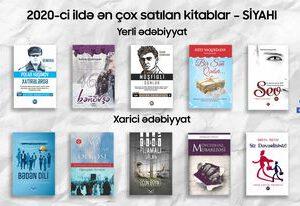 2020-ci ildə ən çox satılan kitablar – SİYAHI