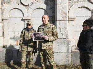 Ulu öndərin izi ilə: İlham Əliyev 39 il sonra eyni gündə Şuşada