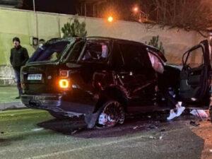Bakıda lüks avtomobil BELƏ AŞDI – Sürücü yerindəcə öldü – ANBAAN VİDEO