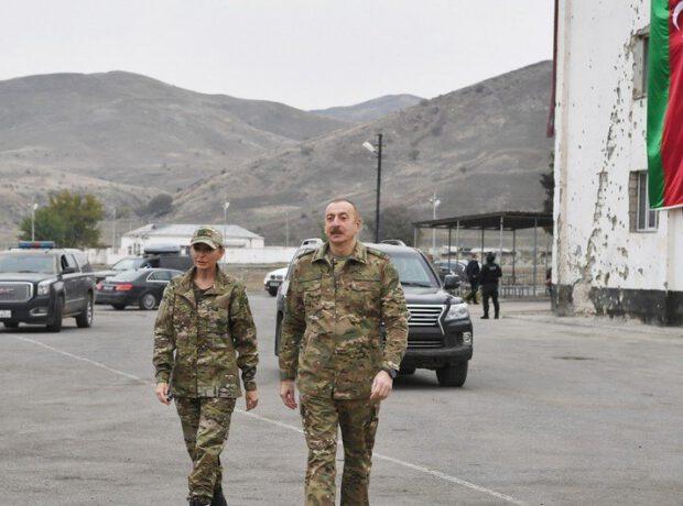 Prezident İlham Əliyev və birinci xanım Mehriban Əliyeva Şuşaya yola düşüblər