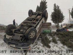 CBC TV-nin avtomobili aşdı – FOTO