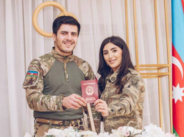 Qazimiz müharibədə iştirak edən tibb bacısı ilə evləndi – FOTO