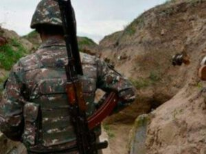 Qarabağda Ermənistan hərbçisi öldü