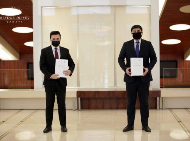 """Heydər Əliyev Sarayı ilə """"Davam"""" arasında memorandum imzalandı – FOTO"""