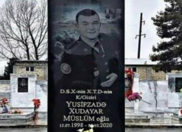 Xudayar Yusifzadənin məzar daşı hazırdır – FOTO
