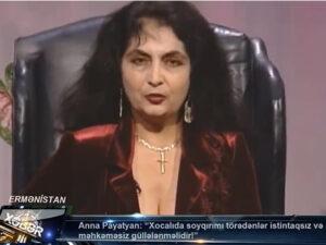 """""""Sarkisyan, Koçaryan, Ter-Petrosyan və digərləri uşaq cəlladlarıdır"""" – Payatyan"""
