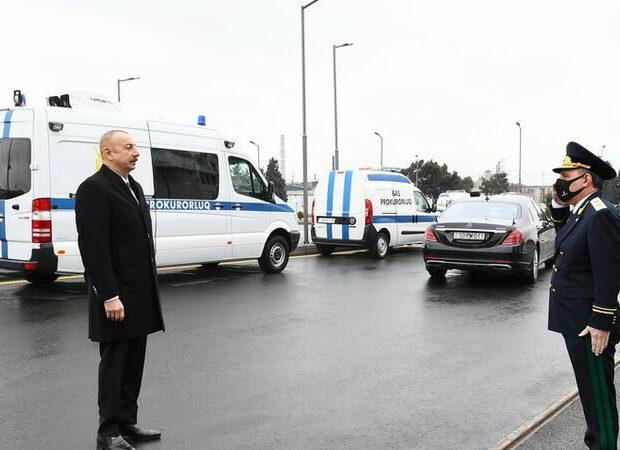 İlham Əliyev Baş Prokurorluğun yeni inzibati binasının açılışında iştirak etdi – FOTO