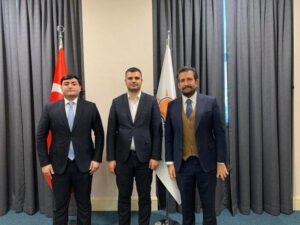 """""""Davam"""" Gənclər Hərəkatının sədri AK Partidə görüşlər keçirdi – FOTO"""