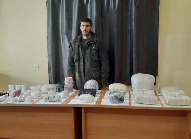 Azərbaycan-İran sərhədində əməliyyat: SAXLANILAN VAR – FOTOLAR